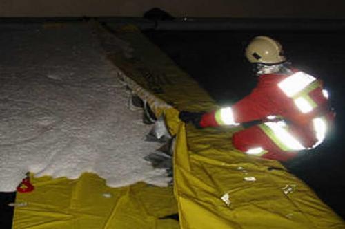Protipoplavne zaščite Vistler Zaščita pred onesnaženjem vod e in tal s pregradami Watergate